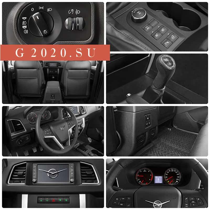 Новый кроссовер УАЗ 3170 2020 модельного года