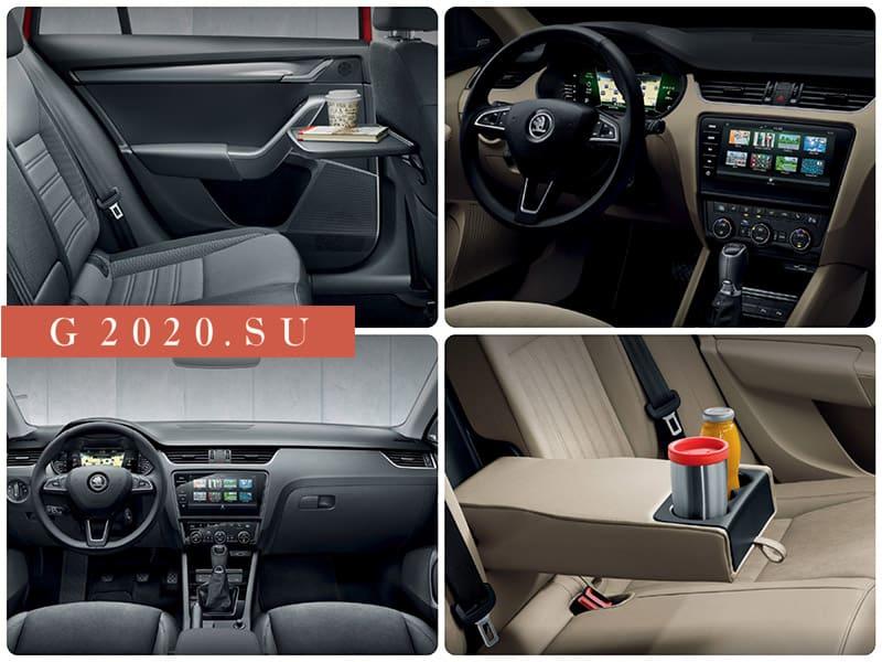 Новая Skoda Octavia 2020 модельного года