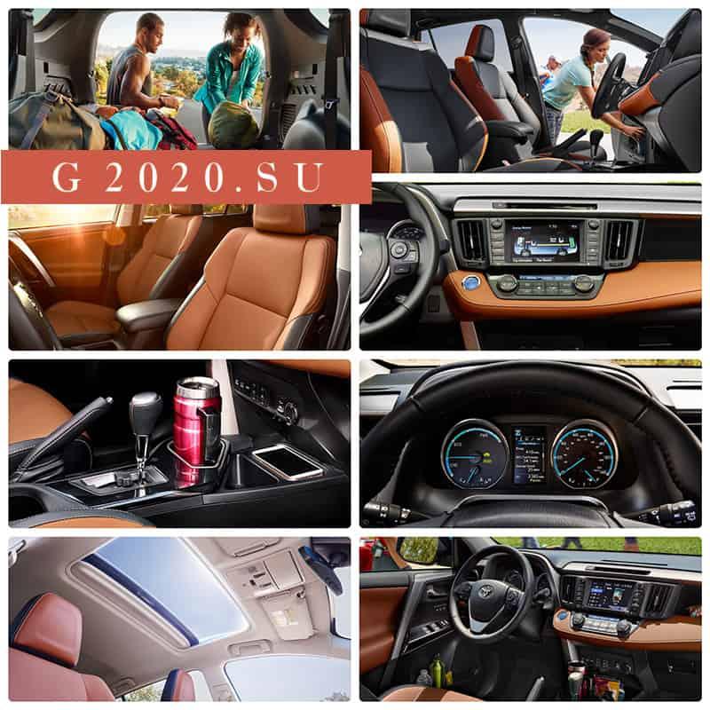 Новая Toyota RAV 4 2019 - 2020 пятого поколения
