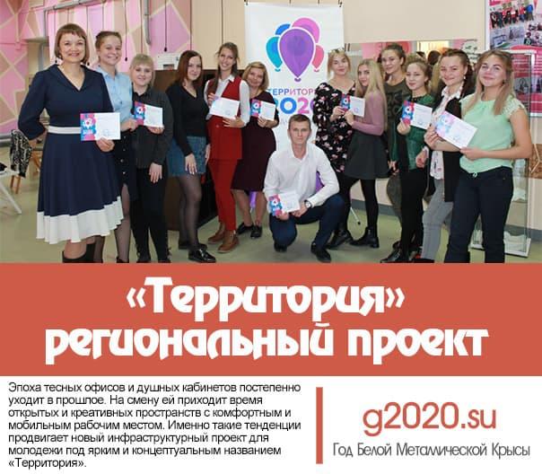 «Территория 2020» - региональный проект