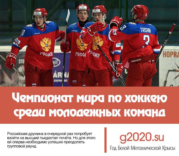 Чемпионат мира по хоккею среди молодёжных команд 2020