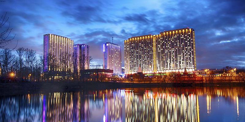 Отели с программой на Новый год 2022 в Москве