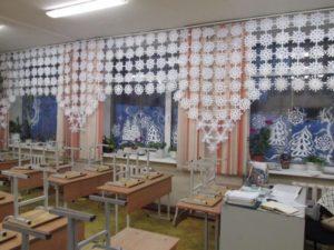 Как украсить школьный кабинет к Новому году 2020