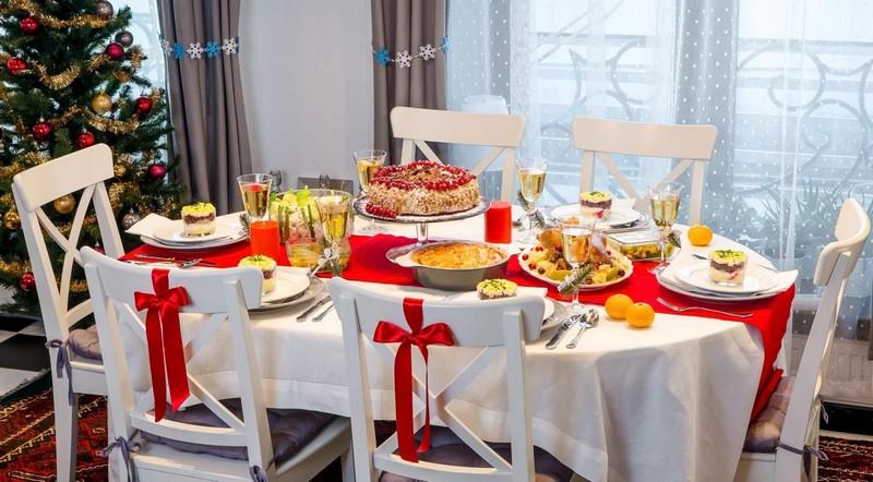 Как украсить стол к Новому году 2020
