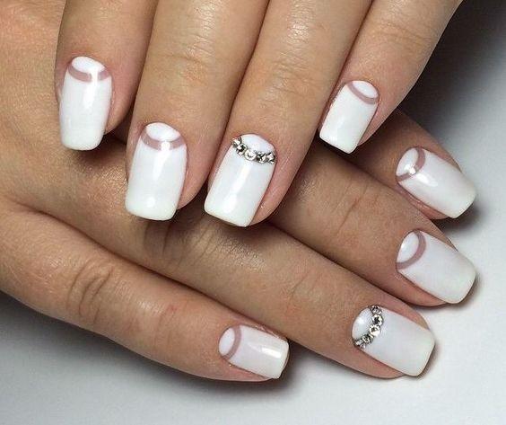Маникюр на ногти на Новый год 2020. Фото, новинки, идеи новогоднего маникюра