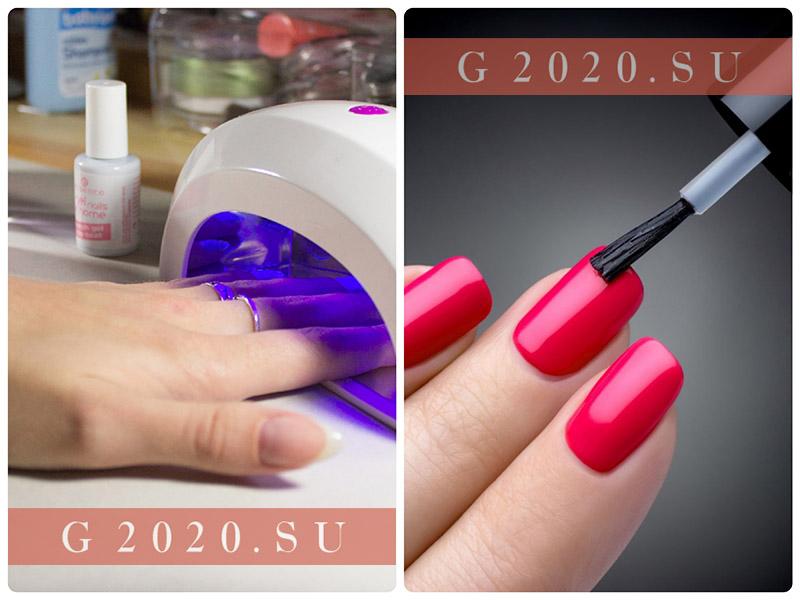 Маникюр на ногти на Новый год 2020