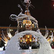 Ледовый городок - Екатеринбург 2022
