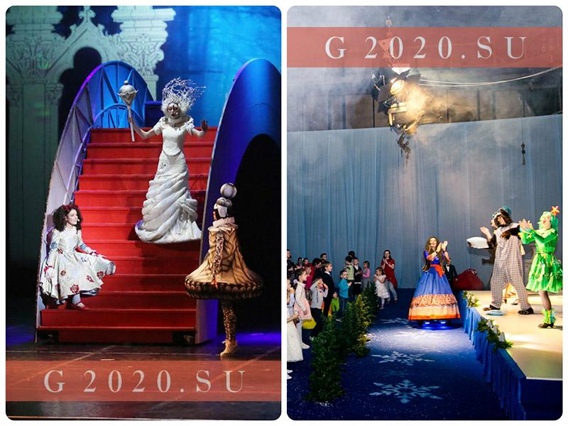 Новогодние елки для детей 2019-2020 СПб, афиша, расписание, цены на билеты