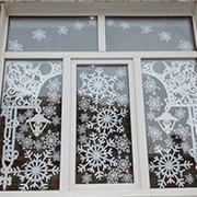 Трафареты на окна к Новому году 2020 для вырезания