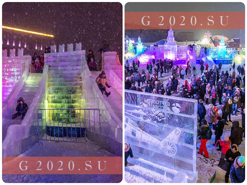 Ледяные скульптуры в Москве 2020, где посмотреть бесплатно, на Поклонной горе, ВДНХ, парк Победы