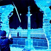 Ледяные скульптуры в СПб 2019-2020