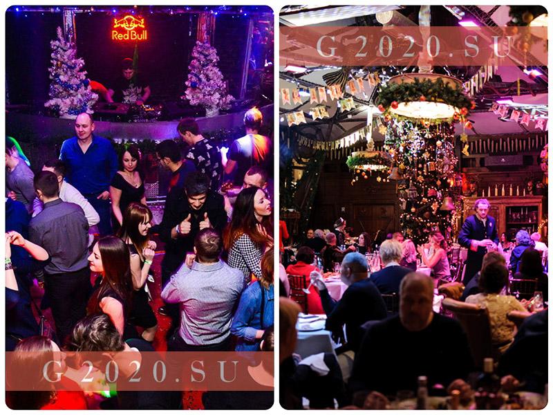 Новый год 2021 в ресторане Санкт-Петербурга, недорого в центре