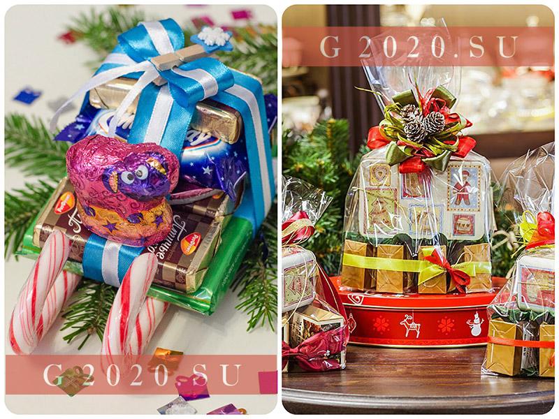 Сладкие подарки на Новый год 2019-2020