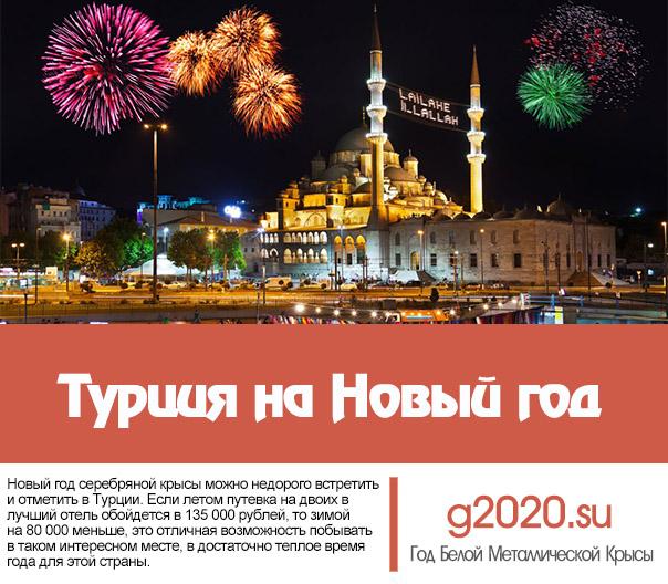 Турция на Новый год 2020