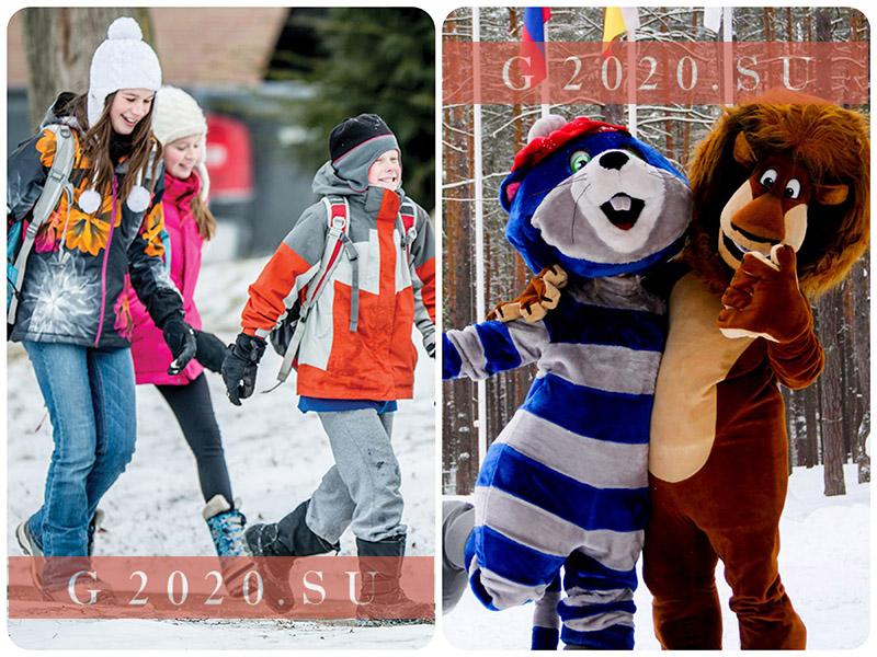 Зимние каникулы 2019-2020 учебного года в России, Москва, СПб