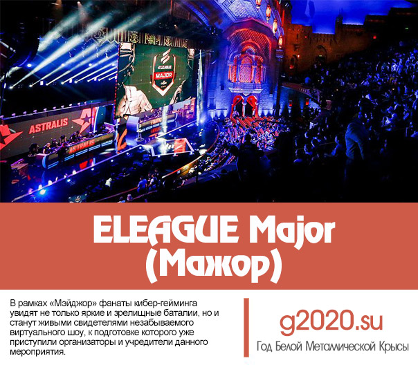 ELEAGUE Major (Мажор) 2020