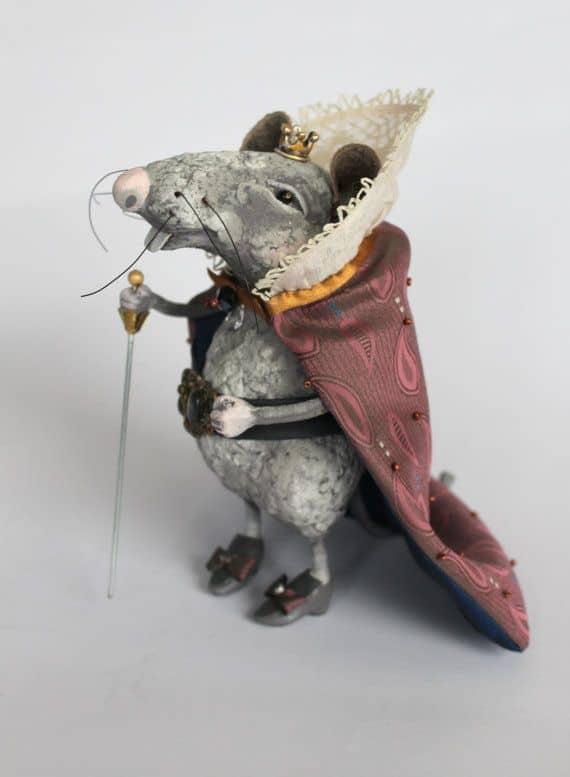 Крыса символ 2020 года своими руками, пошагово с фото