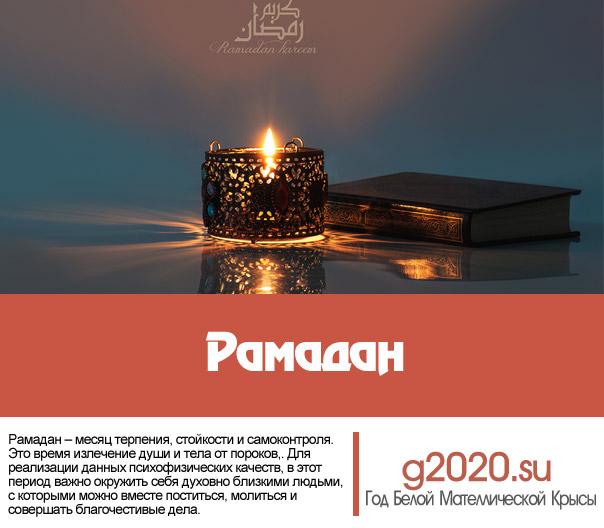 Рамадан 2022