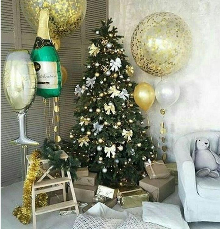 Как украсить комнату на Новый год 2020