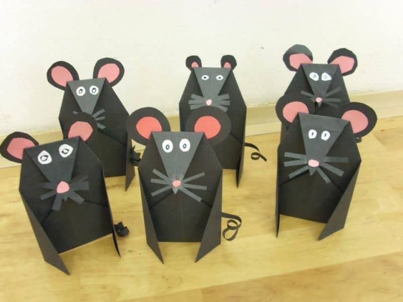 Новогодние поделки своими руками из бумаги на 2020 год, Крыса