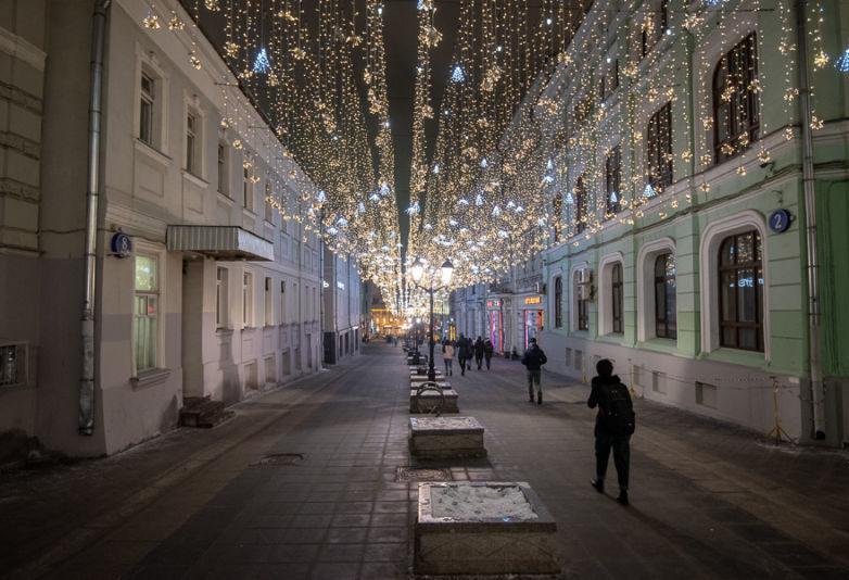 Новогодняя Москва 2021, фото