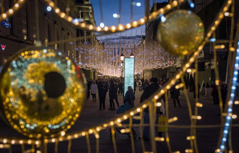 Новогодняя Москва 2021, фото, где погулять и что посмотреть