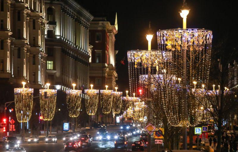 Новогодняя Москва 2020, фото, где погулять и что посмотреть