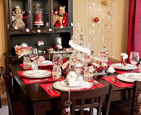 Сервировка новогоднего стола 2020