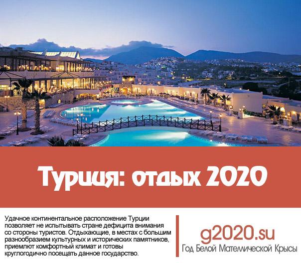 Турция отдых 2022
