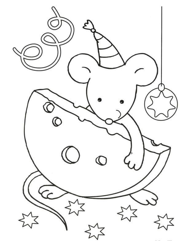 Картинки символ года 2020 Крыса для распечатки, раскраски, анимация, поздравления в стихах и прозе
