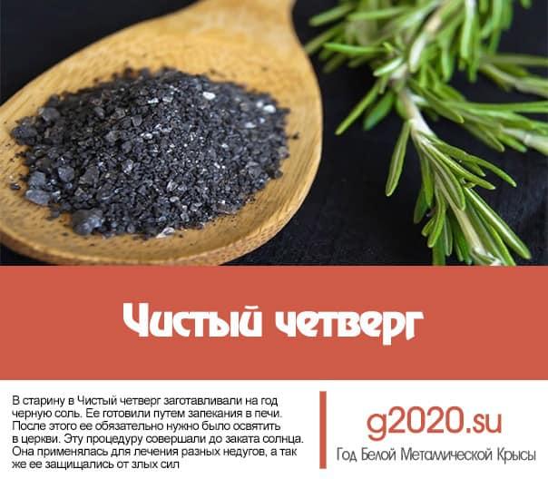 Чистый четверг 2022